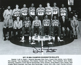 Dick Motta Washington Bullets - 77-78 Team Photo