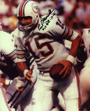 Earl Morrall Miami Dolphins with 17-0 15 Quarterback  Autographed Photo (Hand Signed Collectable) Photo
