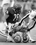 Steve McMichael Chicago Bears Autographed Photo (Hand Signed Collectable) Photo
