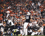 "Wes Byrum Auburn Tigers with""GAME WINNING KICK""  Autographed Photo (Hand Signed Collectable) Photo"