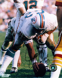 Jim Langer Miami Dolphins Autographed Photo (Hand Signed Collectable) Photo