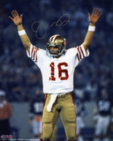 Joe Montana San Francisco 49ers Super Bowl XIX Autographed Photo (Hand Signed Collectable) Photo