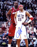 Vince Carter New Jersey Nets Autographed Photo (Hand Signed Collectable) Photo