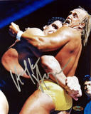 Hulk Hogan - WWE - vs. Andre the Giant graph Autographed Photo (Hand Signed Collectable) Photo