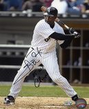 Carl Everett Chicago White Sox with 05 WS Champs Inscription Photo