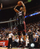 Udonis Haslem Miami Heat Autographed Photo (Hand Signed Collectable) Photo