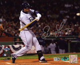 Evan Longoria Tampa Bay Rays - Batting Autographed Photo (Hand Signed Collectable) Photo
