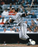 Scott Fletcher White Sox with 83 AL West Champs  Autographed Photo (Hand Signed Collectable) Photo