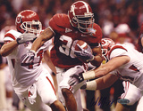 Glen Coffee Rush vs Utah Autographed Photo (Hand Signed Collectable) Fotografía