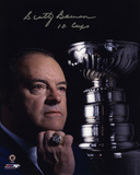 Scotty Bowman -10 Cups- Photo