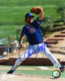 Rick Sutcliffe Chicago Cubs Pitching Autographed Photo (Hand Signed Collectable) Photo