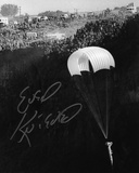 Evel Knievel (motorcycle Stuntman) B&W Autographed Photo (Hand Signed Collectable) Photo