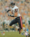 Brian Urlacher - Chicago Bears Running Autographed Photo (Hand Signed Collectable) Photo
