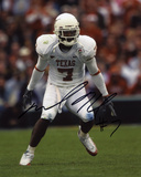 Michael Huff Texas Longhorns Autographed Photo (Hand Signed Collectable) Photo