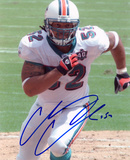 Channing Crowder Miami Dolphins Photo