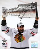 Andrew Ladd Chicago Blackhawks 2010 Stanley Cup Autographed Photo (Hand Signed Collectable) Photo