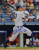 Jesus Montero Autographed Second Career Homerun Vertical Photo Photo