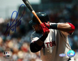 David Ortiz Close Up Away Batting Photo