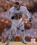 Roy Williams Oklahoma Sooners White Jersey Autographed Photo (Hand Signed Collectable) Photo