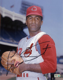 Luis Tiant Cleveland Indians Autographed Photo (Hand Signed Collectable) Photo