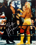 Hulk Hogan - WWE - With Sting Autographed Photo (Hand Signed Collectable) Photo