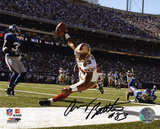 Arnaz Battle San Francisco 49ers - Touchdown Autographed Photo (Hand Signed Collectable) Photo