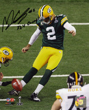 Mason CroSuper Bowly Green Bay Packers with XLV Champs  Autographed Photo (Hand Signed Collectable) Photo