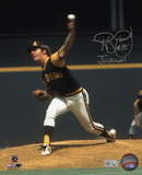 Randy Jones San Diego Padres with Junkman Inscription Photo