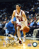 Kirk Hinrich Chicago Bulls Dribbling Autographed Photo (Hand Signed Collectable) Photo
