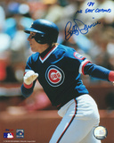 "Bobby Dernier Chicago Cubs w/ Inscription ""84 NL East Champs"" Photo"