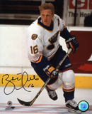 Brett Hull St. Louis Blues Autographed Photo (Hand Signed Collectable) Photo