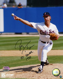 Bobby Thigpen Chicago White Sox with 57 saves 1990 Inscription Photo