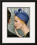 Vogue Cover - April 1959 Impressão giclée emoldurada por Richard Rutledge
