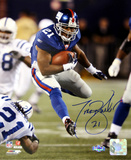 Tiki Barber Run vs. Colts Vertical Photo Photo