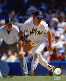 Don Mattingly New York Yankees Fielding Autographed Photo (Hand Signed Collectable) Photo