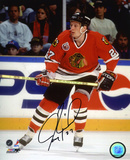 Jeremy Roenick Chicago Blackhawks Autographed Photo (Hand Signed Collectable) 写真