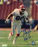 James Lofton Buffalo Bills with HOF 03 Inscription Autographed Photo (Hand Signed Collectable) Foto