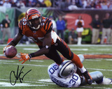 Chad Johnson Cincinnati Bengals - Running Upfield Autographed Photo (Hand Signed Collectable) Photo