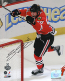 Ben Eager Chicago Blackhawks Autographed Photo (Hand Signed Collectable) Photo