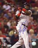 David Ortiz  2004 WS Game 4 Double Photo