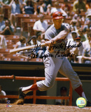Frank Howard Washington Nationals with Capital Punisher Autographed Photo (Hand Signed Collectable) Photo