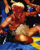 Ric Flair WWE-Blood with WE 16X Inscription Photo