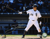 Jim Thome Chicago White Sox -Pointing Bat Autographed Photo (Hand Signed Collectable) Photo