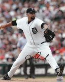 Joel Zumaya Detroit Tigers Autographed Photo (Hand Signed Collectable) Photo
