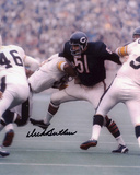 Dick Butkus Chicago Bears - vs. Steelers Autographed Photo (Hand Signed Collectable) Photo