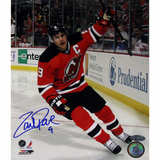 Zach Parise Penalty Shot Goal Autographed Photo (Hand Signed Collectable) Fotografía