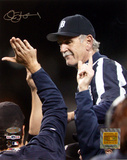 Jim Leyland 2006 ALDS Celebration Carry Off Vertical Photo