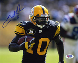 Santonio Holmes PittsburgSteelers Autographed Photo (Hand Signed Collectable) Photo