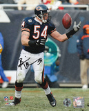 Brian Urlacher Chicago Bears - Reaching Back Photo