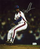 Dwight &quot;Doc&quot; Gooden New York Mets - Celebration with NH 5-14-96 Inscription Photo